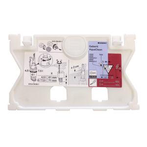Schutzplatte Geberit Sigma / UP320