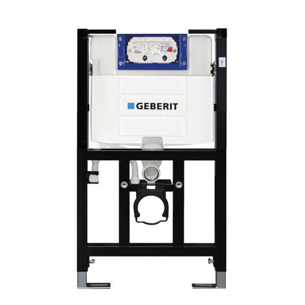 SANwand WC-Element mit UP-Spülkasten Geberit Omega, für den Trockenbau, 82,5 cm