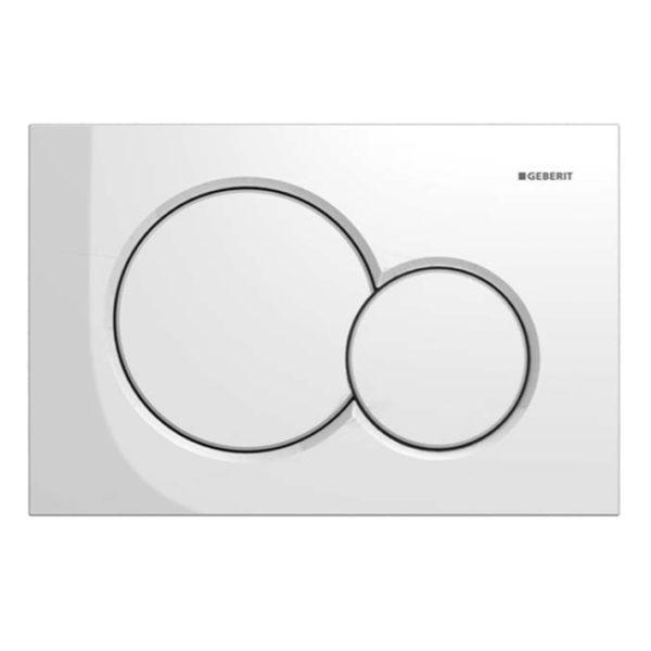 SANwand WC-Element mit Geberit UP-Spülkasten Sigma + Betätigungsplatte Sigma01