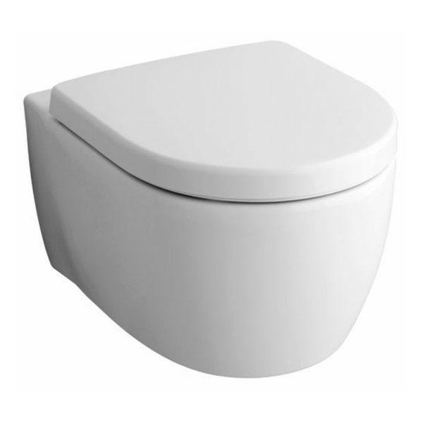 Wand-WC ICON ohne Spülrand