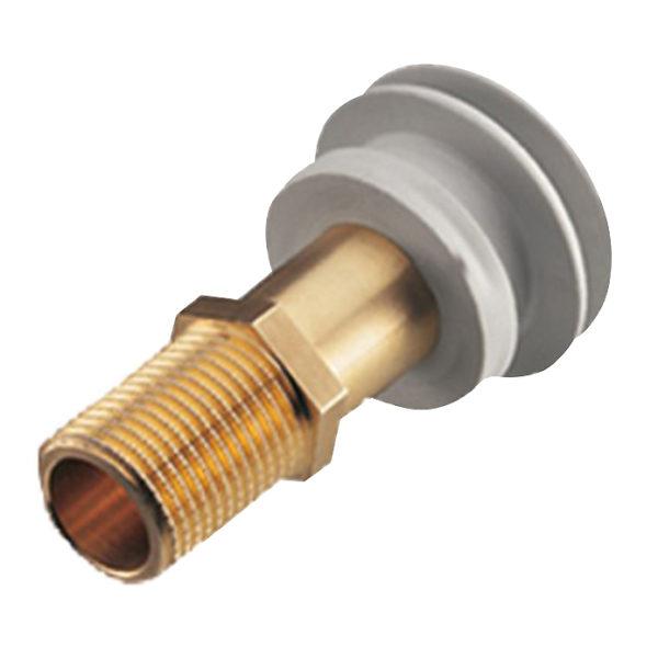 Haas Einlaufverbinder für Urinale mit Anschluss von hinten