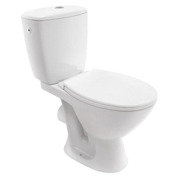 Stand-Tiefspül-WC-Kombination BASIC