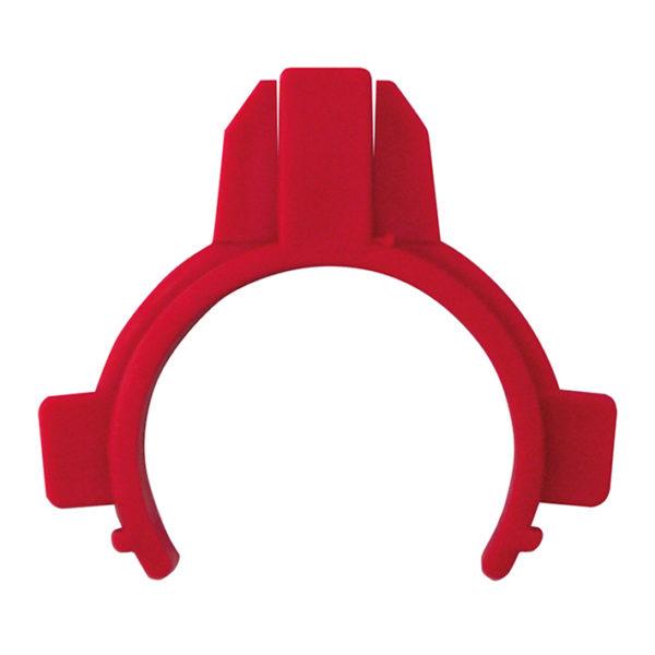 WT-Ablaufschelle komplett, rot  für Nassbau WT-Elemente