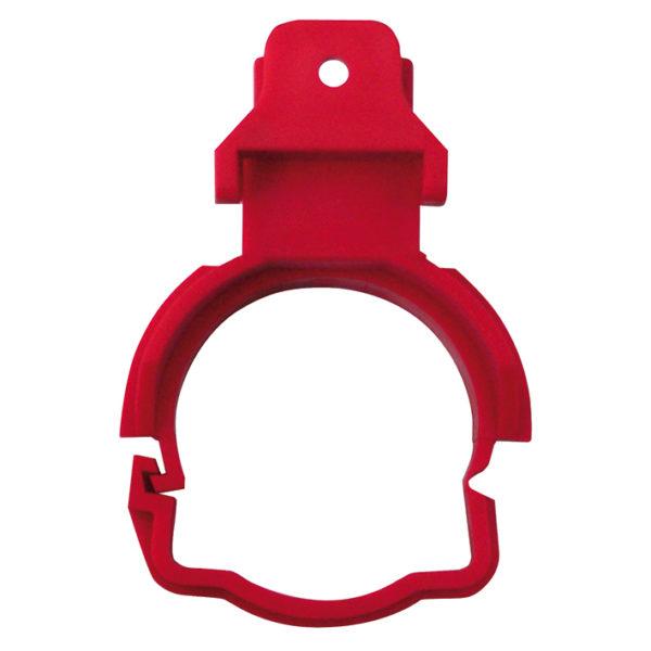 WT-Ablaufschelle komplett, rot für Trockenbau WT-Elemente