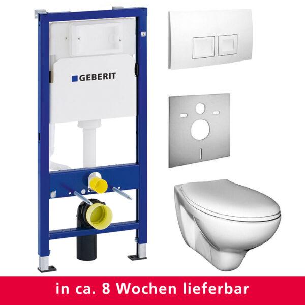 Geberit Duofix Set, Vorwandelement mit Wand-WC, Komplettset