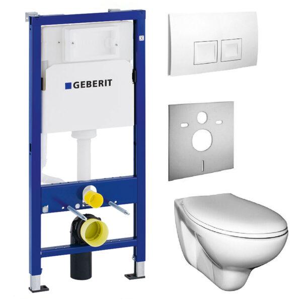 Geberit Duofix 4581033001 Set mit Wand-WC, Komplettset