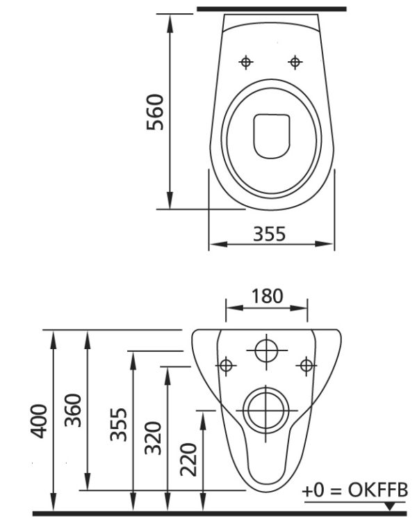 WC-Vorwandelement <br>für den Nassbau mit Geberit UP-SPK Delta + Wand WC Ceravid + Betätigungsplatte<br>Delta 50, weiß + Schallschutzmatte -<br>ohne WC-Sitz