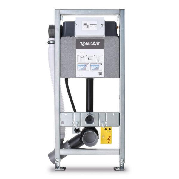 Duravit DuraSystem <br> WC-Element, Geruchsabsaugung, Hygienespülung