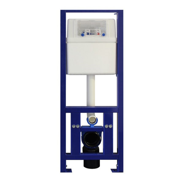 SANwand WC-Element, <br>40 cm breit mit UP-Spülkasten Zweimengentechnik für den Trockenbau