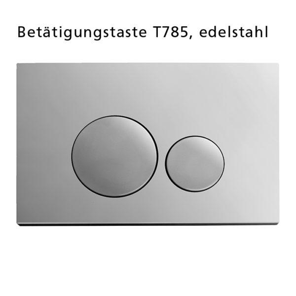 Burda Montageelement WC+ Premium-Wandhalter + WC-Steuerung T690.60