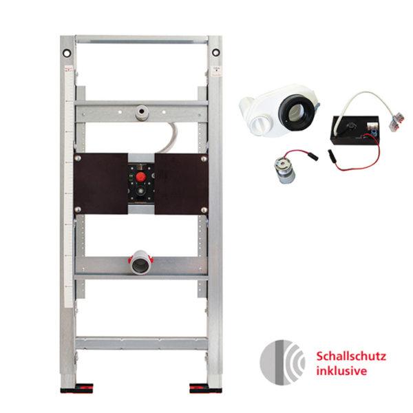 Burda Montageelement Urinal inkl. Flowtronik Siphonsteuerung (über Android App einstellbar)