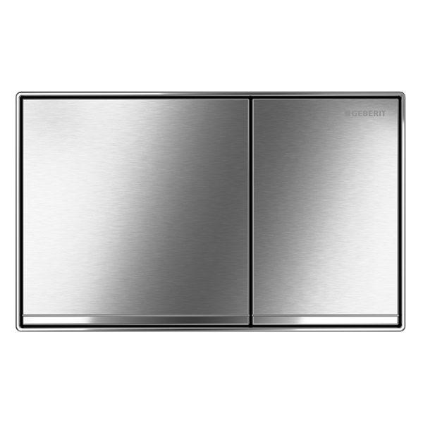 Betätigungsplatte Geberit Sigma60, <br>2-Mengen Spülung, flächenbündig<br> für UP-Spülkasten Sigma