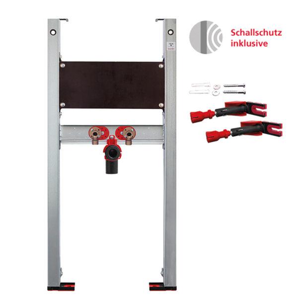 Burda Montageelement Waschtisch <br>für Standarmatur für Befestigung mit Schichtholzplatte