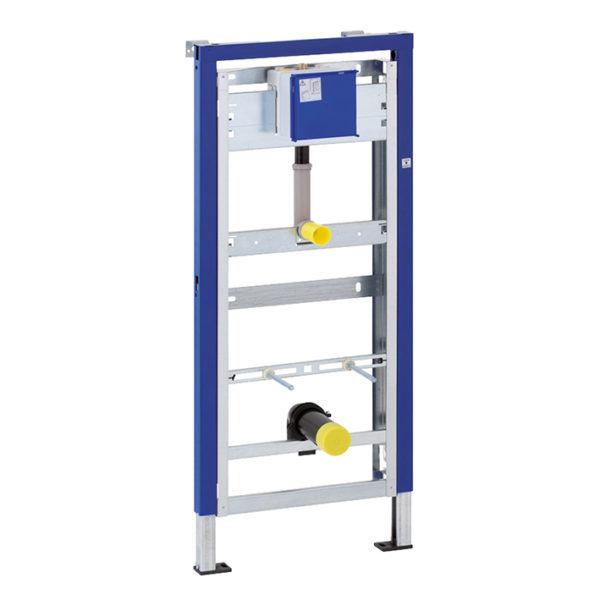 Geberit DuofixBasic Element für Urinal, 130 cm, universell, für Urinalsteuerung Basic