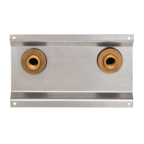 Santro Armaturenplatte A für Aufputzarmaturen