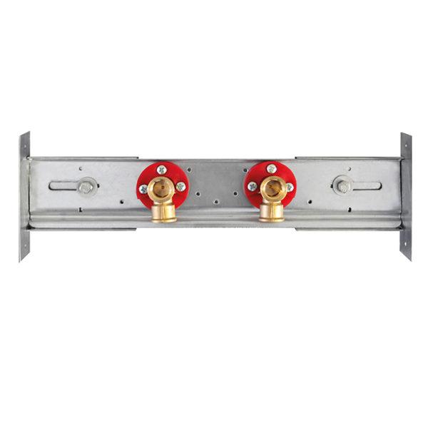 Universal Armaturenplatte für Aufputzarmaturen/Zapfventil