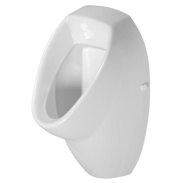 SANwand Urinal-Element Universal mit Geberit Rohbauset Basic + Betätigungstaste Geberit, weiß + Urinal Keramik