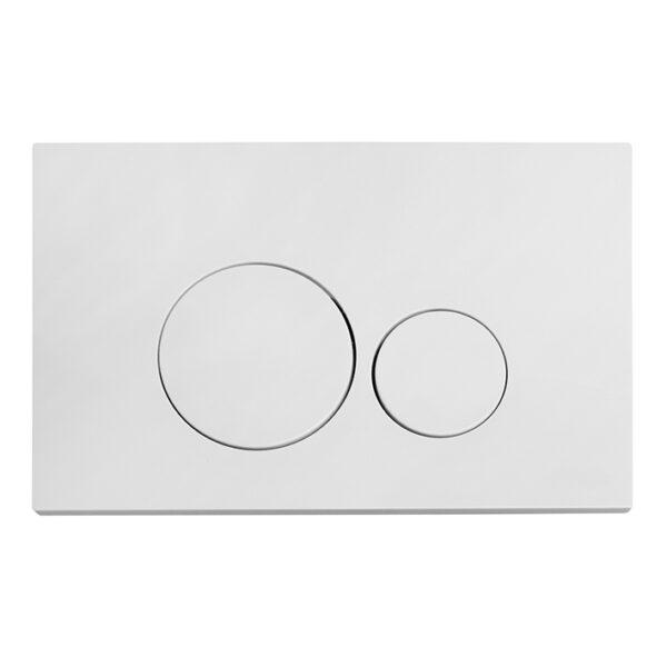 Spülrandloses Wand-WC Set Twister Flush komplett <br>inkl. Burda WC-Montageelement mit <br>UP-Spülkasten Pur <br>+ Betätigungsplatte