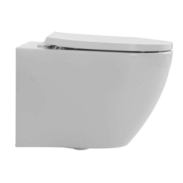 Wand-WC mit Wasserwirbel-Spülung, Twister Flush
